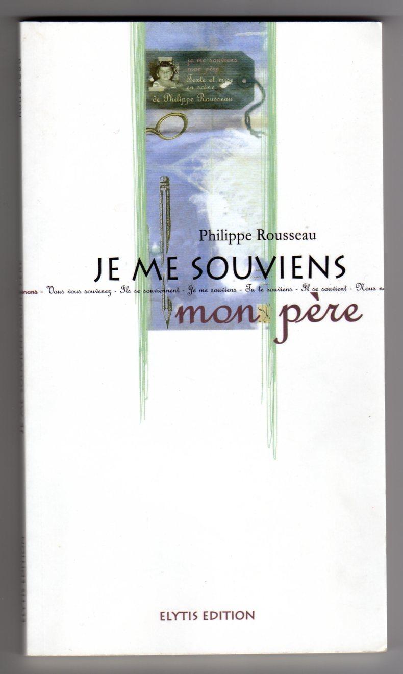 couverture du livre Je me souviens mon père